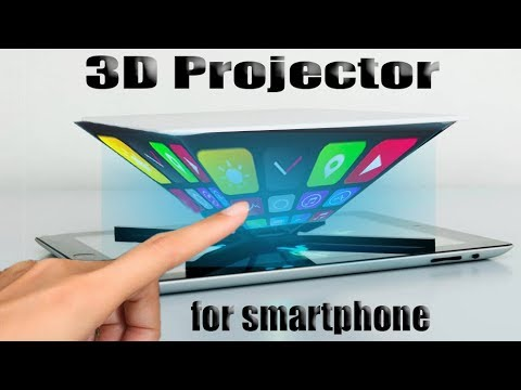 How to make a 3d hologram projector with CD disc at home