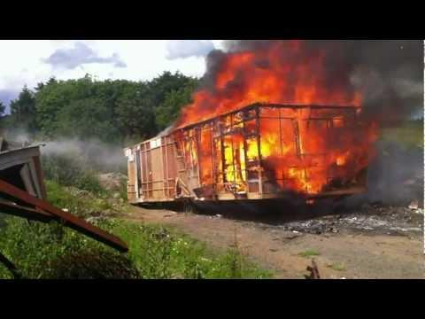 How not to heat up your static caravan !