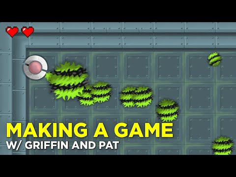 MAKING GAMES in GameMaker Studio 2 with Griffin and Pat
