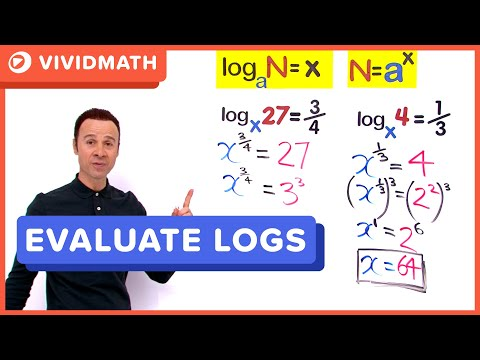 ▶ Logarithms With Fractional Exponents