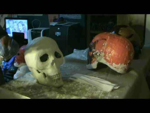 The Making of my Ghostrider Helmet Part 1