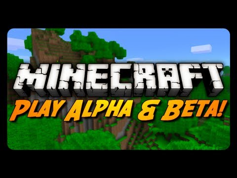 Minecraft: Play Alpha & Beta w/ No Mods! (Launcher Update)