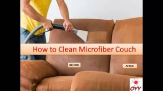 How To Clean Microfiber Couch Home Remedies An Incredibly Easy Method