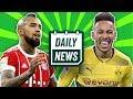Arsenal sign Aubameyang? Vidal & Dzeko transfer to Chelsea? + transfer news ►Onefootball Daily News