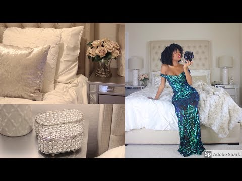 Glam Hotel Bedroom On A Budget