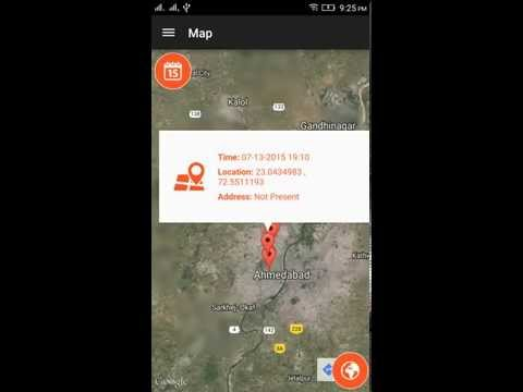 Mobile Tracker Offline Android Application