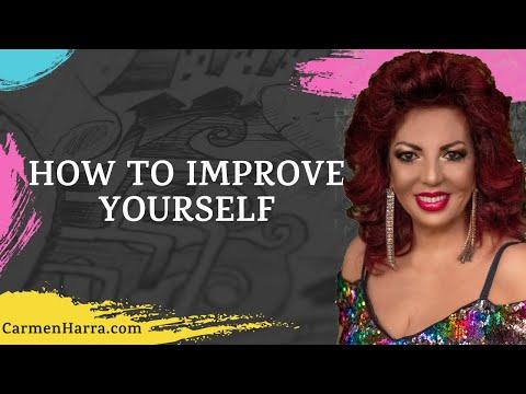Carmen Harra on how to improve yourself.