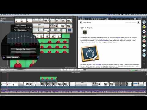 Enhance Audio in iMovie
