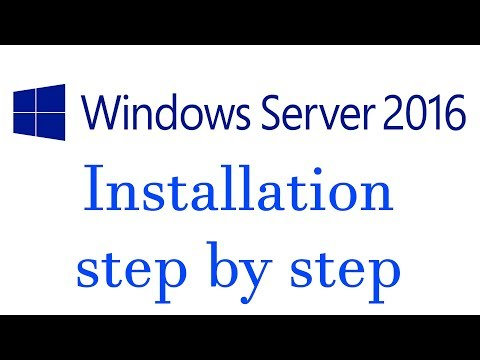 How to Download and Install Windows Server 2016 step by step
