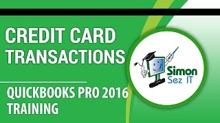 How to Enter Credit Card Transactions in QuickBooks Pro 2016