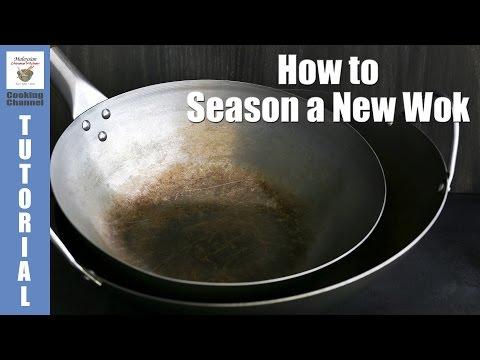 How to Season a New Wok | Malaysian Chinese Kitchen