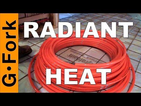 Warm Floors! DIY Radiant Floor Heating - GardenFork