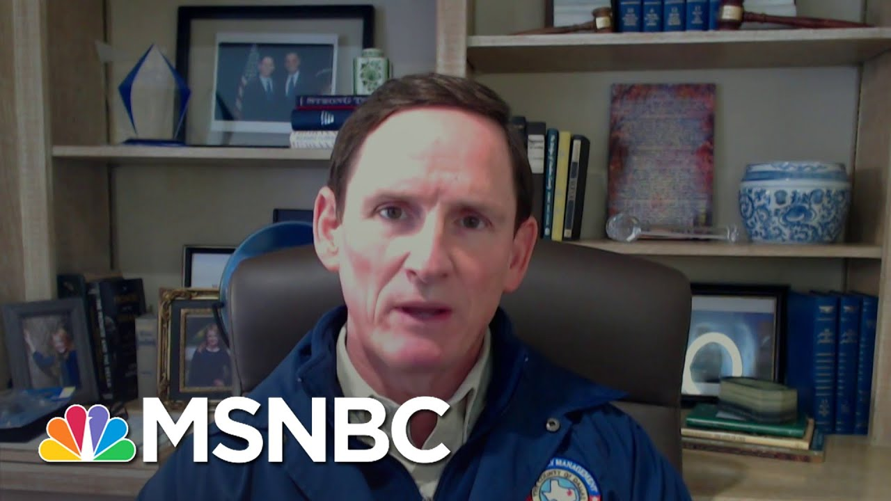 Dallas County, TX Judge: 'You Can Put This At The Foot Of The Governor's Office' | Deadline | MSNBC