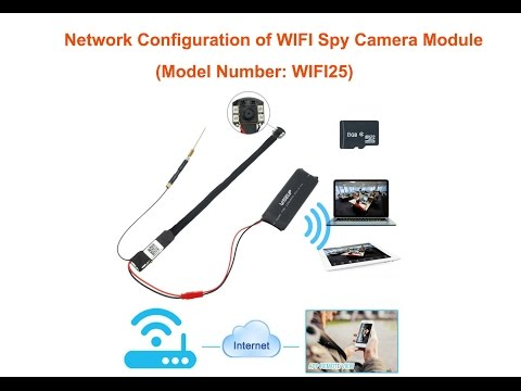 WISEUP How to Set up Mini WIFI Spy Camera with Night Vision Motion Detection (Model Number: WIFI 25)
