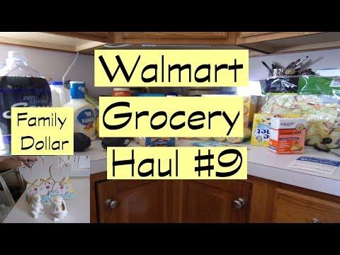 Walmart Grocery Haul #9 | Family Dollar Easter Haul |Savvy Serena