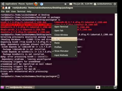 How to install a package from Terminal on Ubuntu