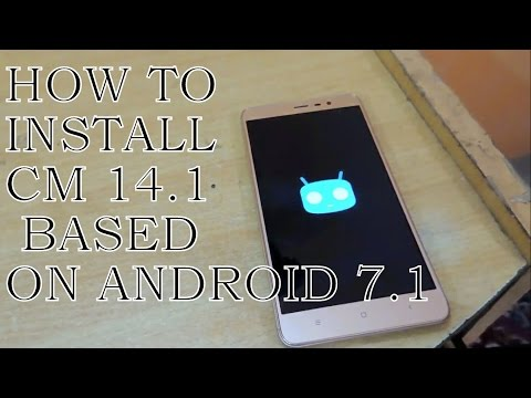 How To Install Android 7.1 (Nougat) CM 14.1 in Redmi Note 3 | English/Hindi | Bugless ROM