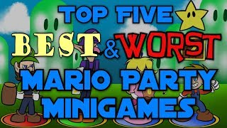 Top Five Best And Worst Mario Party Minigames