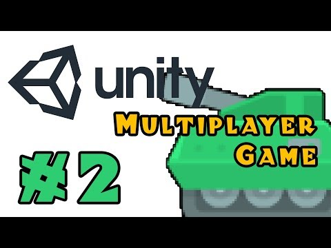 Project Panzer - Multiplayer Unity Game Tutorial! - Ep 2