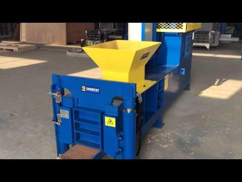 Enerpat Block Making Machine For Sawdust,Wood Shavings,Wood Chips