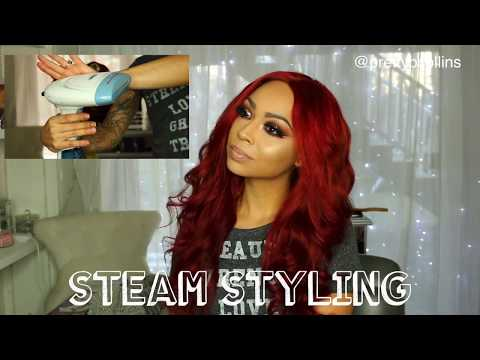 How I Steam Style My Hair | Julia Hair Brazilian Body Wave