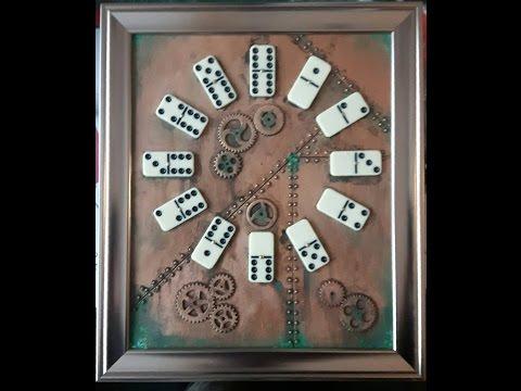 steampunk clock pt 1