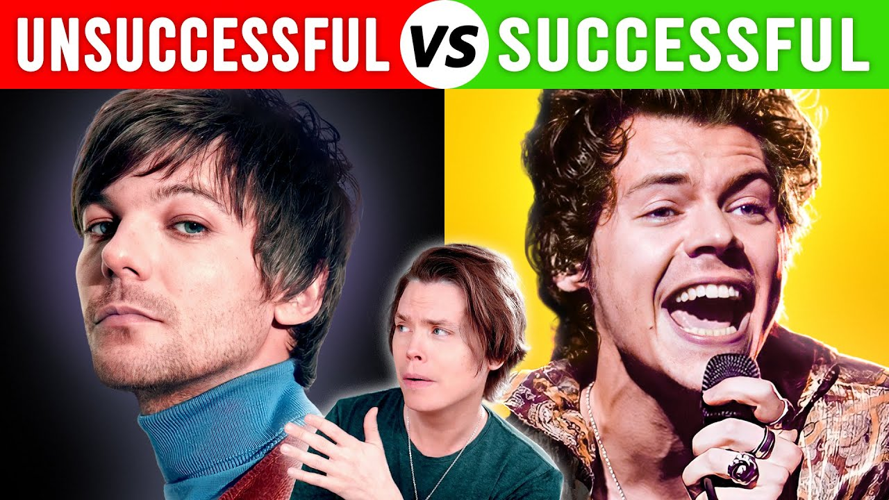 Least vs Most Successful Solo Careers (people who left bands)