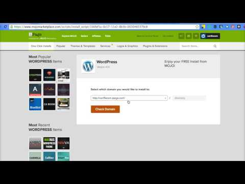 Changing Domain for Wordpress Install