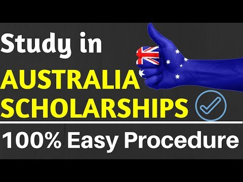 Study in Australia for Free || Scholarships in Australia