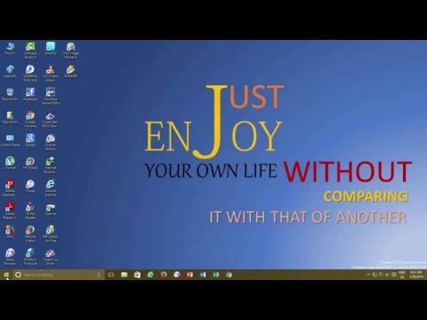 How to Display Your Name on Windows Taskbar | Windows 10 Tutorial | The Teacher