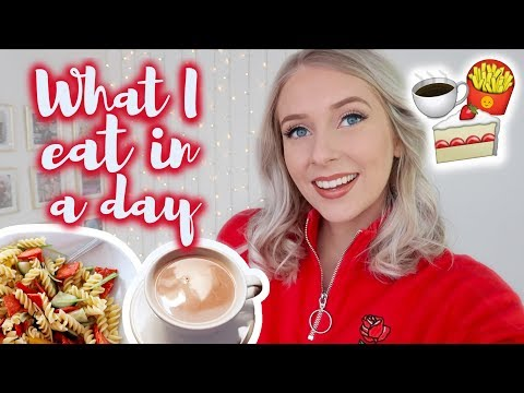 WHAT I EAT IN A DAY (like, realistically) 🍟