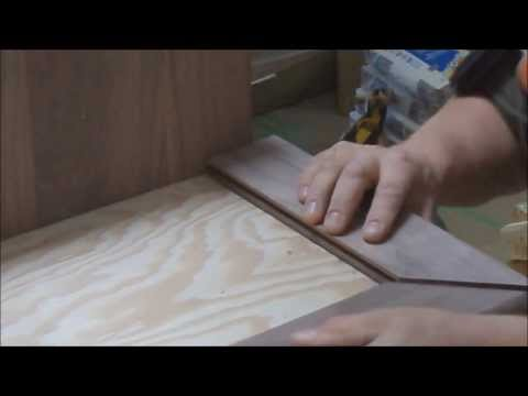 Hardwood on Stairs: How-to Make Stair Nosing Template DIY Do IT Yourself Tips Mryoucandoityourself