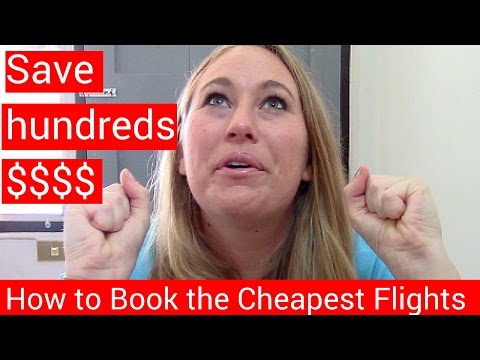 How to Find Cheap Flights Anywhere: Save money