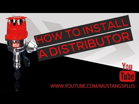 How To Install A Ford Mustang Distributor And Set Timing