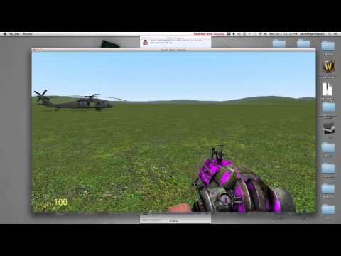 Garrys Mod Help Part 2- WAC Helicopter Starting and Flying