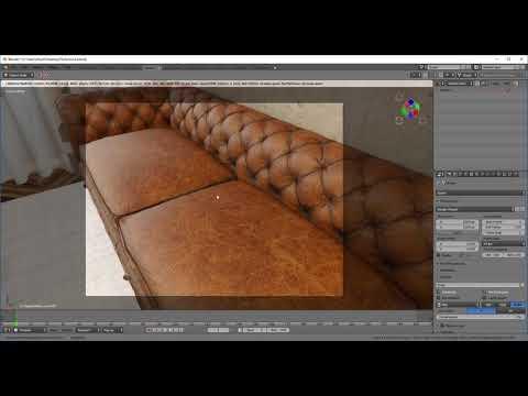 Blender Eevee Demo - Interior Scene