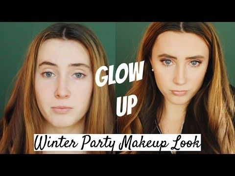 GLOW UP: Winter Party Glam | Kaela Kilfoil