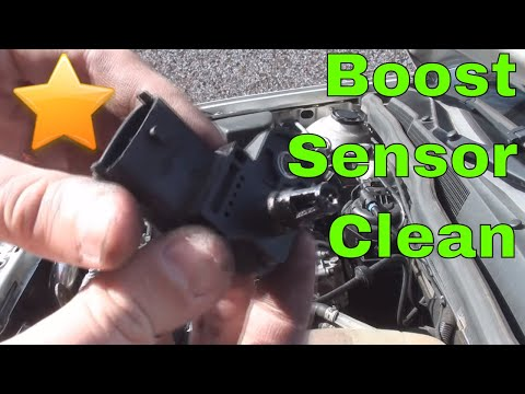 How to: Clean/ Unblock your Boost Sensor