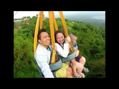 Tagaytay picnic grove ZIPLINE adventure