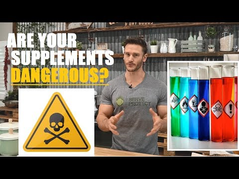 Are Your Health Supplements Actually Dangerous? By Thomas DeLauer