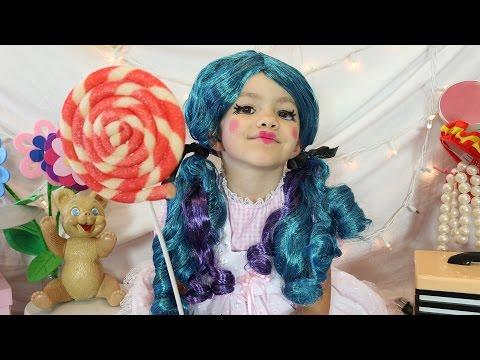 Cute Doll Costume Makeup