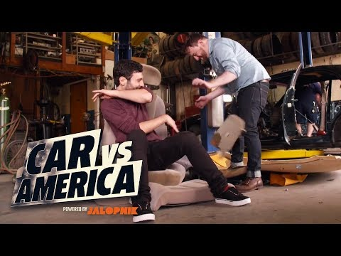Building a Skid Plate Racing Car | Car vs America