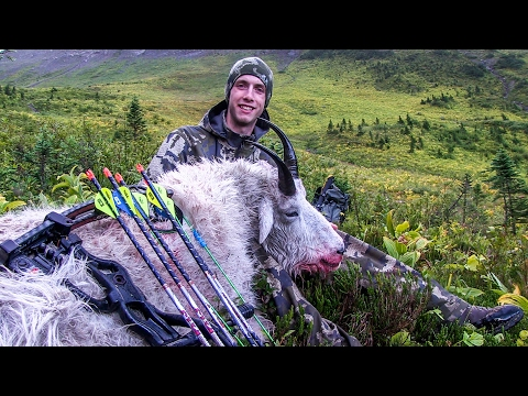 BOWZONE~ BC ARCHERY MOUNTAIN GOAT HUNT 2016