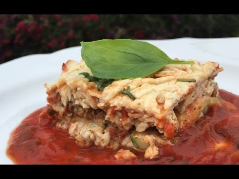 GLUTEN-FREE & DAIRY-FREE LASAGNA - Dinner Recipes