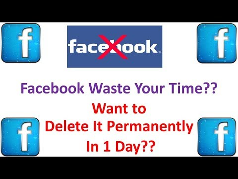 How To Delete Facebook Account Permanently Without 14 Days Waiting - 2017