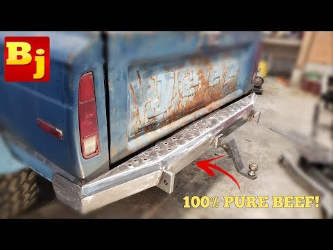 Homemade Rear Truck Bumper Low Buck Diesel Truck Episode 11