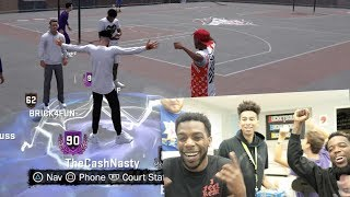 CRAZIEST WAY GETTING 90 OVERALL REACTION!! NBA 2K18 PLAYGROUND