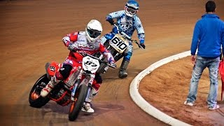 Debut de Oriol Mena | III Superprestigio Dirt Track - Barcelona 2015(UHD/4K)