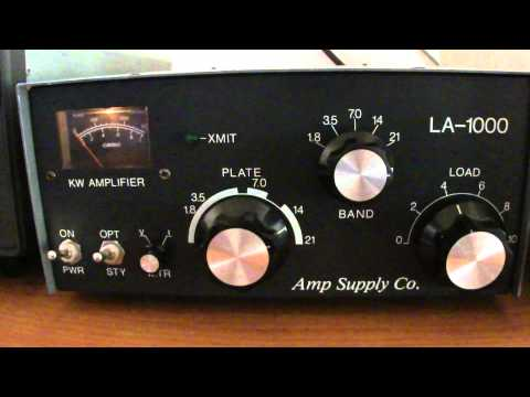 LINEAR AMPLIFIER      MODEL.- LA-1000     AMP SUPPLY CO.