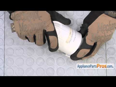 Refrigerator Water Filter Housing (part #240434301) - How To Replace